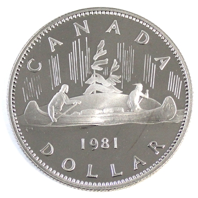 1981 Canada Nickel Dollar Proof