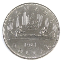 1981 Canada Nickel Dollar UNC+ (MS-62)