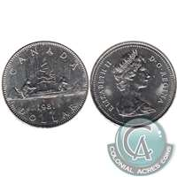 1981 Canada Nickel Dollar Uncirculated (MS-60)