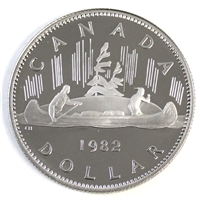 1982 Voyageur Canada Nickel Dollar Proof