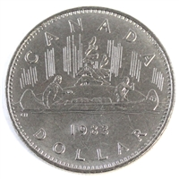 1983 Canada Nickel Dollar Brilliant Uncirculated (MS-63)