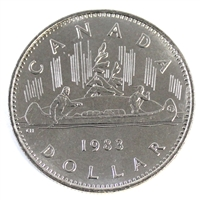 1983 Canada Nickel Dollar Choice Brilliant Uncirculated (MS-64)