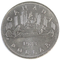 1983 Canada Nickel Dollar Circulated