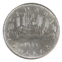 1983 Canada Nickel Dollar UNC+ (MS-62)