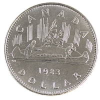 1983 Canada Nickel Dollar Uncirculated (MS-60)
