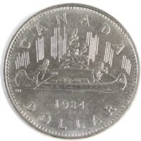1984 Voyageur Canada Nickel Dollar UNC+ (MS-62)