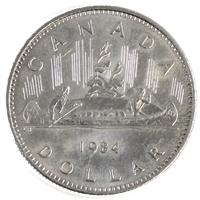 1984 Voyageur Canada Nickel Dollar Circulated