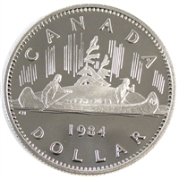 1984 Voyageur Canada Nickel Dollar Proof