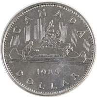 1985 Canada Nickel Dollar Circulated