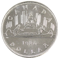 1986 Canada Nickel Dollar Brilliant Uncirculated (MS-63)