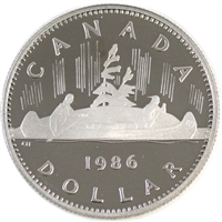 1986 Canada Nickel Dollar Proof