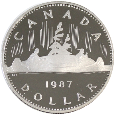 1987 Canada Nickel Dollar Proof