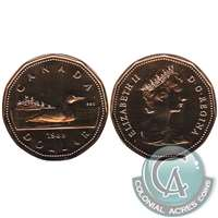 1989 Canada Loon Dollar Proof Like