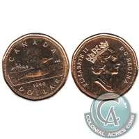 1990 Canada Loon Dollar Brilliant Uncirculated (MS-63)