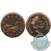 1991 Canada Loon Dollar Brilliant Uncirculated (MS-63)