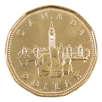 1992 Canada Parliament Dollar Brilliant Uncirculated (MS-63)