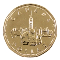 1992 Canada Parliament Dollar Proof Like