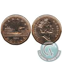 1994 Canada Loon Dollar Brilliant Uncirculated (MS-63)