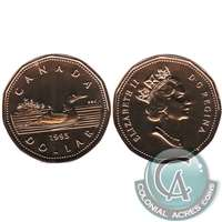 1995 Canada Loon Dollar Proof Like