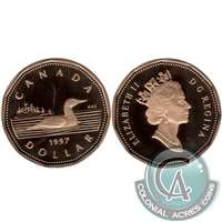 1997 Canada Loon Dollar Proof