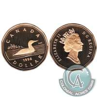 1998 Canada Loon Dollar Proof