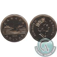 1998 Canada Loon Dollar Proof Like (Mint Set Issue Only)