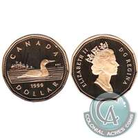 1999 Canada Loon Dollar Proof