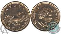 2003 Canada New Effigy Loon Dollar Brilliant Uncirculated (MS-63)
