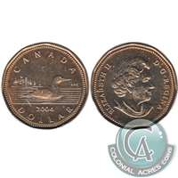 2004 Canada Loon Dollar Brilliant Uncirculated (MS-63)