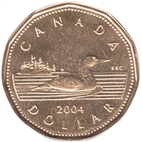 2004 Canada Loon Dollar Proof Like