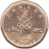 2004 Canada Olympic Loon Dollar Brilliant Uncirculated (MS-63)