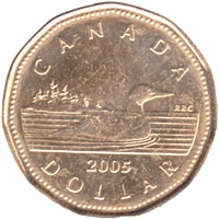 2005 Canada Loon Dollar Brilliant Uncirculated (MS-63)