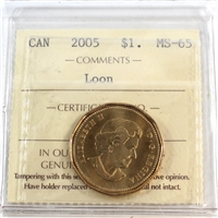 2005 Canada Loon Dollar ICCS Certified MS-65