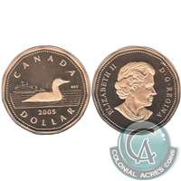 2005 Canada Loon Dollar Proof