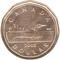 2005 Canada Loon Dollar Proof Like
