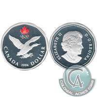 2006 Canada Silver Lucky Loon Dollar Proof_