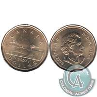 2007 Canada Loon Dollar Brilliant Uncirculated (MS-63)