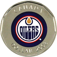 2008 Canada Edmonton Oilers Dollar Proof Like (from Set)