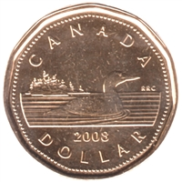 2008 Canada Loon Dollar Proof Like