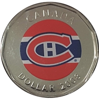 2008 Canada Montreal Canadiens Dollar Proof Like (from Set)