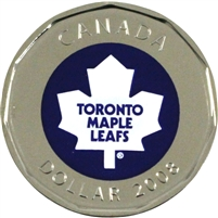 2008 Canada Toronto Maple Leafs Dollar Proof Like (from Set)