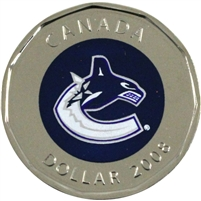 2008 Canada Vancouver Canucks Dollar Proof Like (from Set)