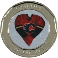 2009 Canada Calgary Flames Dollar Proof Like (from Set)