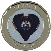 2009 Canada Edmonton Oilers Dollar Proof Like (from Set)