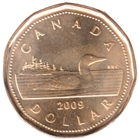 2009 Canada Loon Dollar Brilliant Uncirculated (MS-63)