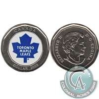 2009 Canada Toronto Maple Leafs Dollar Proof Like (from Keychain) $