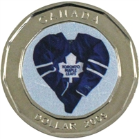 2009 Canada Toronto Maple Leafs Dollar Proof Like (from Set)