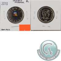2010 Canada Coloured Inukshuk Dollar Proof Like (From Puck)