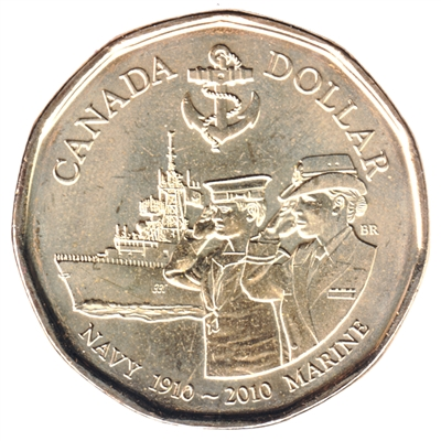 2010 Canada Navy Dollar Brilliant Uncirculated (MS-63)