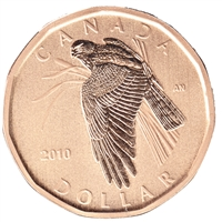 2010 Canada Northern Harrier Dollar Specimen